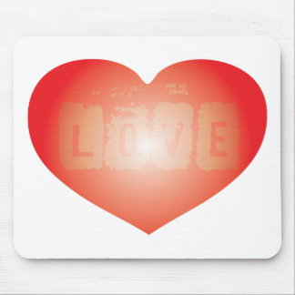 Love are in the air mouse pad