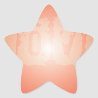Love are in the air star sticker
