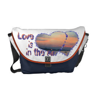 love are in the air sun perdition courier bags