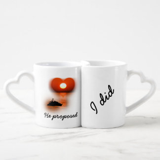 love are in the air sundown lovers mugs