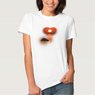 love are in the air sundown tee shirts