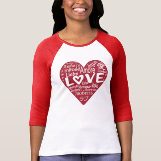 LOVE around the WORLD Graphic TEE