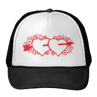 love arrow hats