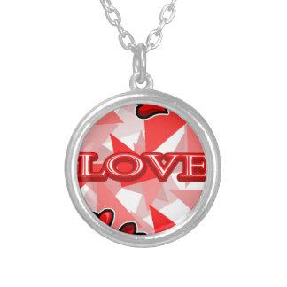 Love Art/Design Round Pendant Necklace