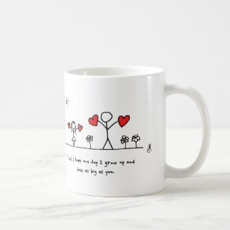 Love as Big as Dad - by Hearts and All Coffee Mugs