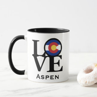 LOVE Aspen Colorado Mug