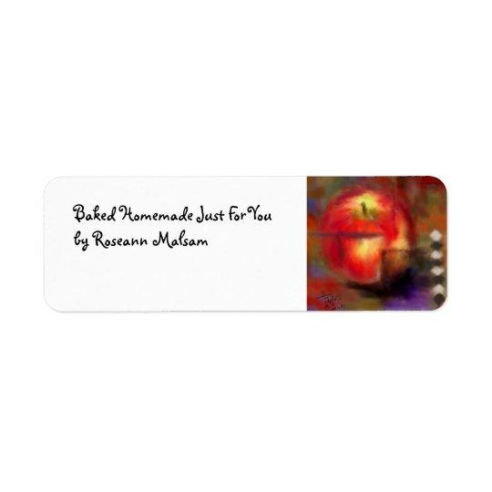 Love at First Bite Kitchen Label Return Address Label