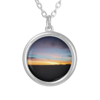Love at first light silver plated necklace