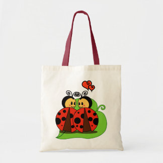 Love at first sight canvas bag