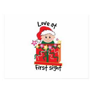 Love At First Sight Post Card