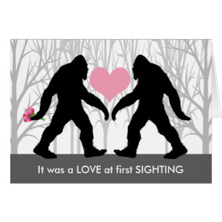 Love at First Sighting Card