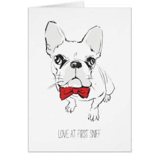 """""""Love at First Sniff"""" Valentine's Day Card"""