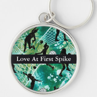 Love At First Spike Key Ring