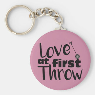 Love at First Throw, Hammer Throw Keychain