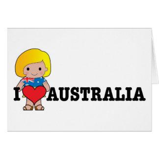 Love Australia Card