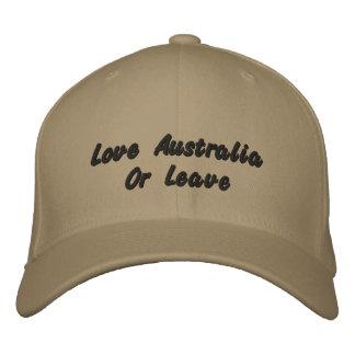 Love Australia Or Leave, Logo Baseball Cap