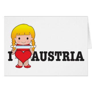 Love Austria Card