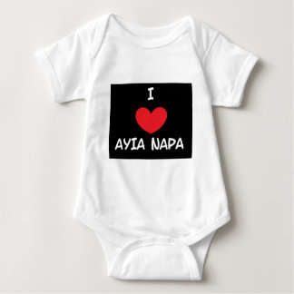 Love Ayia Napa Baby Bodysuit