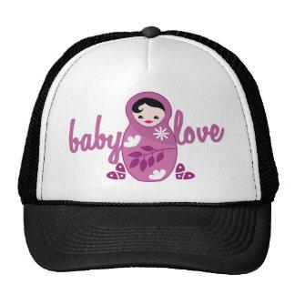 love babooshka doll in pink cap