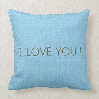 Love-Baby-Blue* Fabric(c)Lumbar & Square Sizes Cushion