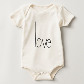 love baby one piece 6 months baby bodysuit