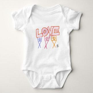 Love Baby T'shirt Baby Bodysuit