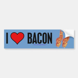 Love Bacon Bumper Sticker