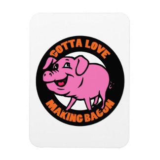 Love Bacon Flexi Magnet