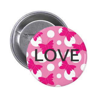 LOVE PINBACK BUTTONS