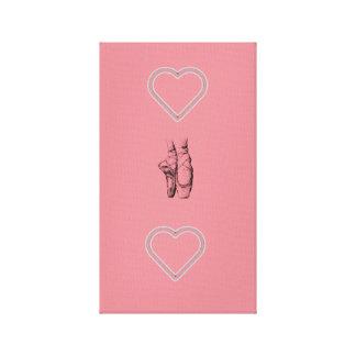 Love Ballet Canvas Print