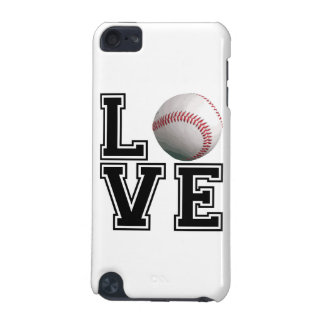 Love Baseball College Style iPod Touch (5th Generation) Case