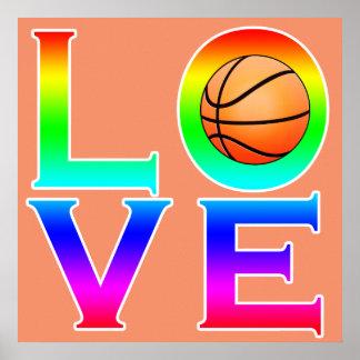 LOVE: Basketball Poster