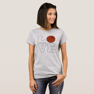 LOVE Basketball Women's Basketball Player T-shirt