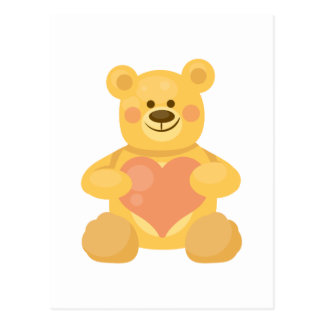 Love Bear Postcard