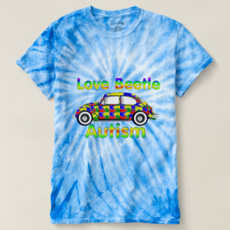 Love Beetle Autism T-Shirt
