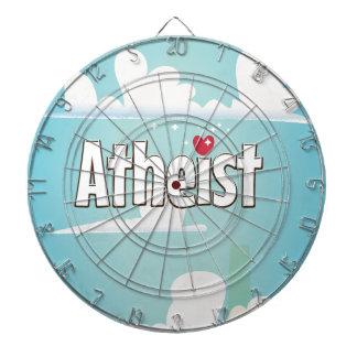 Love being an Atheist Dartboards