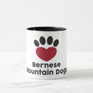 Love Bernese Mountain Dog mug