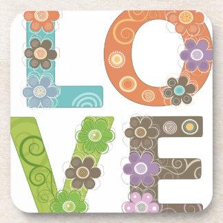 Love Beverage Coasters