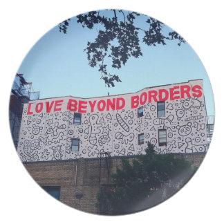 Love Beyond Borders Plate
