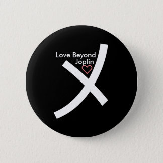 Love Beyond Hand Holding Symbol Button (Black)
