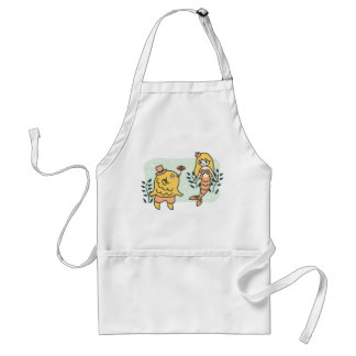 Love Beyond the Borders Adult Apron