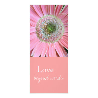 Love Beyond Words Bookmarks 10 Cm X 24 Cm Invitation Card
