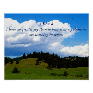 Love Bible Verse-children Poster