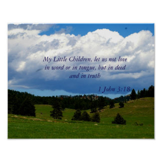 Love Bible Verse Poster