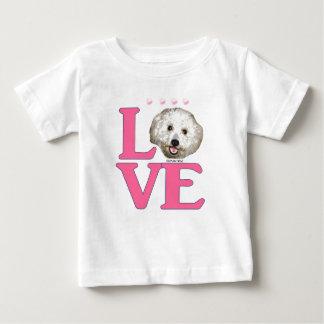 LOVE Bichon Frise Baby T-Shirt