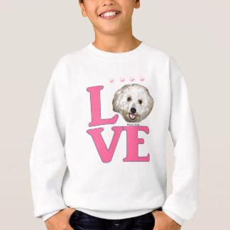 LOVE Bichon Frise Sweatshirt