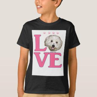 LOVE Bichon Frise T-Shirt