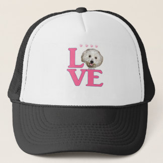 LOVE Bichon Frise Trucker Hat