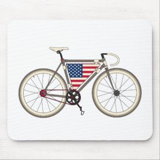 Love Bike, Love America Mouse Pad