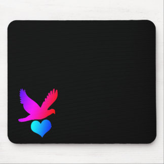 Love bird 2 mouse pad